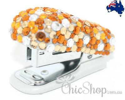 DIAMANTE BLING GLITTER SPARKLE CRYSTAL |  Pretty Bling Mini Stapler
