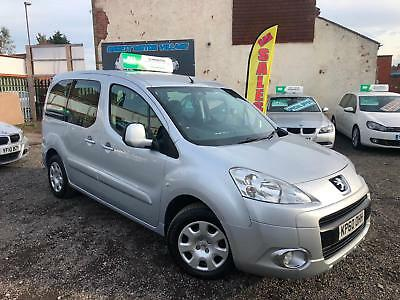 2011 60 Peugeot Partner 1.6 Hdi Tepee S Mpv Full Mot Low Mileage Part X Warranty