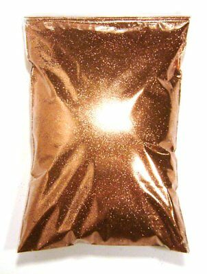 "15oz / 444ml Shiny Copper Metal Flake .008"" Custom Auto Metallic Paint Additive"