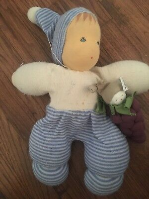 Waldorf Organic Wool Cotton Doll Lot Nanchen Natur Under The Nile Soft