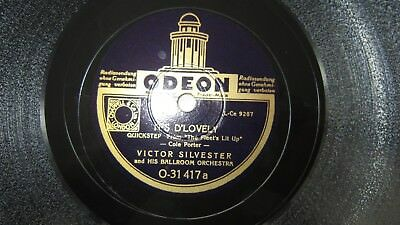 It´s D´Lovely / Sweetest Song in The World , Victor Silvester  ODEON O- 31417