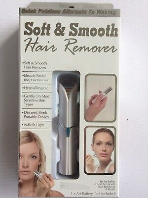TEKNO Soft & Smooth Hair Remover, NEW in PACKAGE with FREE SHIPPING!