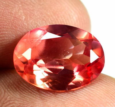 6.00 cts Natural Rare Vivid Padparadscha sapphire gemstone GIE Certified