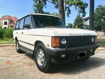 1994 Land Rover Range Rover Country LWB 1994 Range Rover Classic Country LWB in Aspen white with Sorrell leather! NR!