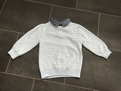 Baby Boys Smart Collar Top By NEXT, Size 12-18 Months, Great Used Condition!!