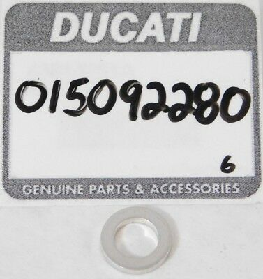 1 NEW Genuine DUCATI Motorcycle OEM 015092280 Crush Washer GASKET Seal OEM NOS