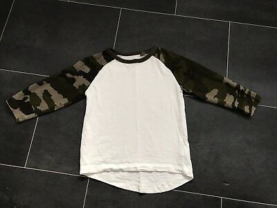 Baby Boys Long Army Sleeve Top By NEXT, Size 12-18 Months, Great Condition!!