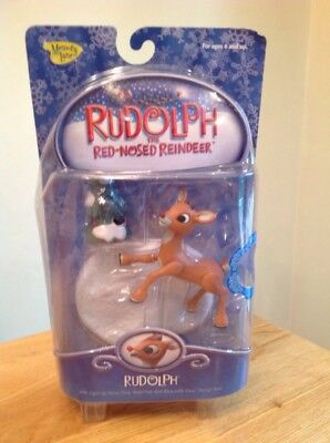 NEW Rudolph Red Nosed Reindeer Memory Lane figure TV Movie
