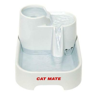 Cat Mate Fresh Water Drinking Fountain/Bowl for Cats and Small Dogs