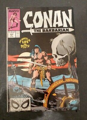 Conan the Barbarian #223 (Oct 1989, Marvel)