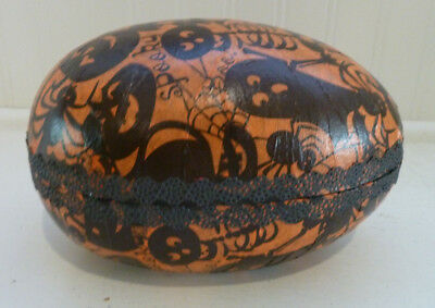 Halloween Paper Mache Large Egg Germany
