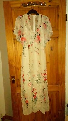 Asos Maternity Occasion Dress Wedding Guest Size 8