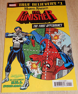 THE PUNISHER: The First Appearance (Marvel) -> Amazing Spider-Man #129