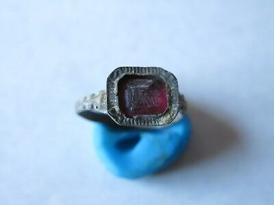 76. Roman Ring With Glass Stone