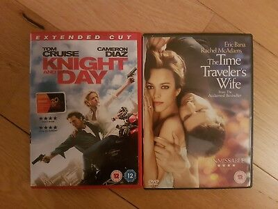 4 star fantastic dvd Bundle knight and day & the time travellers wife