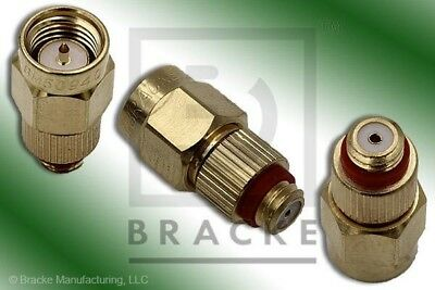 10-32  Microdot Female to SMA Male Adapter  BRACKE BM50940