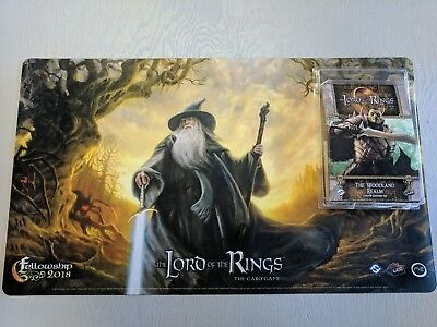 Lord of the Rings LCG Fellowship 2018 Playmat and Adventure Pack