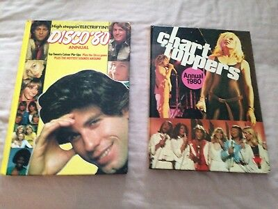 2 x collectable pop  annuals from 1980