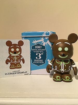 Disney Vinylmation Christmas Gingerbread 3 inch with tin and card