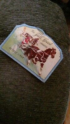 Vintage Full Speed Imported Needle Book Germany Horse And Cart Race