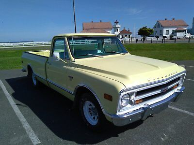 1968 Chevrolet C-10 Long Bed 1968 chevy c-10 pickup