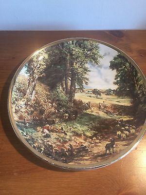 "Lord Nelson Pottery Decorative Plate - ""The Cornfield"" by John Constable 1978"