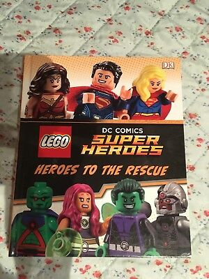 children book Lego Dc Comics Super heroes Heroes to the rescue