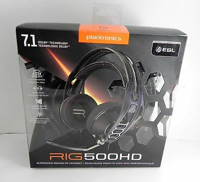 Plantronics RIG 500HD Gaming Headset with Microphone - Black20