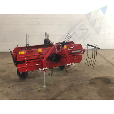 Ibex TX78 Mini Belt Hay Rake for subcompact tractors - DEMO UNIT