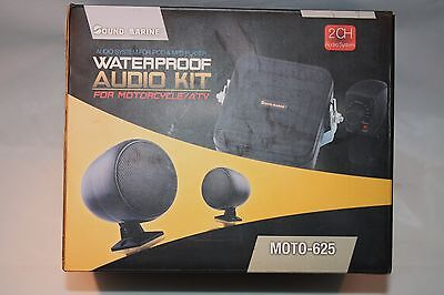 new in box. motorcycle, atv, pwc, sno mobile, water proof, audio kit. 94-13250a