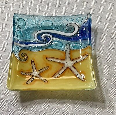 Starfish On Beach Candy/ Jewelry Dish