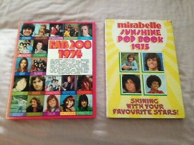 2 collectable pop annuals from the 70's-fab 208-mirabelle-donny osmond/osmonds