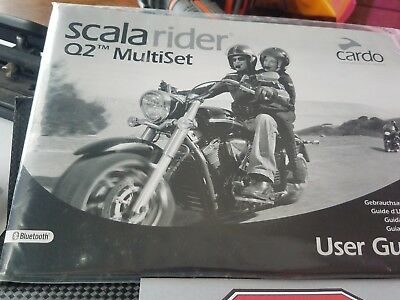 cardo scala rider Q2 multiset new excellent buy