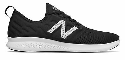 New Balance Men's Fuelcore Coast V4 Comfortable Shoes Black With White