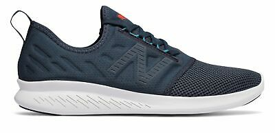 New Balance Men's FuelCore Coast v4 Shoes Grey with Blue