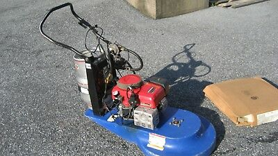24 inch Propane Floor Burnisher - Buffer with Honda 11 HP engine only 541 Hours