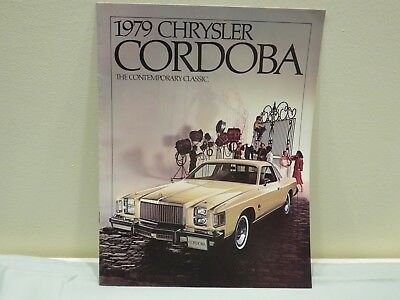 Vintage 1979 Chrysler Cordoba Sales Brochure