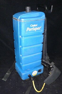 TENNANT Castex Portapac Backpack Vacuum Model BP1502