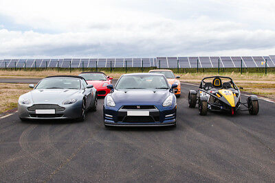 6 super car blast driving experience