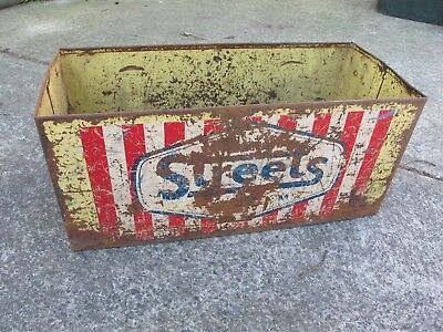Very Rare 1950's Streets Ice Cream Delivery Truck Cool Box/Carry Box