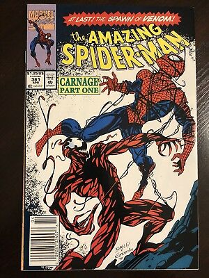 The Amazing Spider-Man #361 (Apr 1992, Marvel) First Carnage!! Beautiful Copy!!