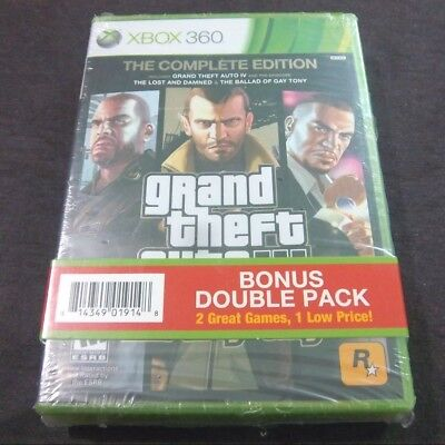 Grand Theft Auto IV: The Complete Edition + Max Payne 3  (Xbox 360)  DOUBLE PACK