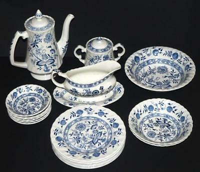 """Woods & Sons Ironstone """"Old Vienna"""" Teapot, Plates & More Made in England"""