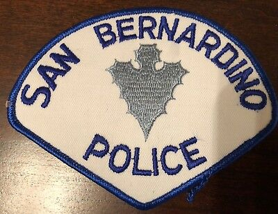 OLD SAN-BERNARDINO POLICE Department Patch - Excellent Condition!