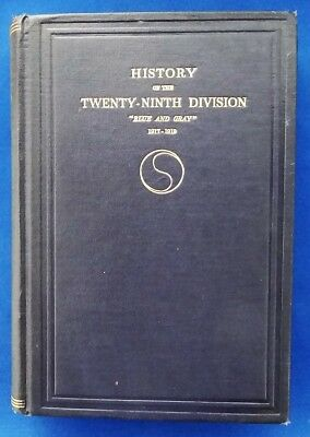HISTORY of the 29th DIVISION, A.E.F. - World War I Camp Meade Meuse-Argonne WWI