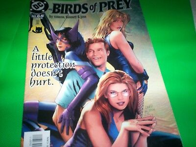 Dc Birds Of  Prey 2Oo4 #68 Highly  Collectible A Little Protection Doesn't Hurt