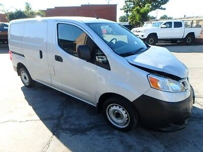 2017 Nissan NV S 2017 Nissan NV200 S Compact Cargo Salvage Damaged Repairable! Priced To Sell!!!