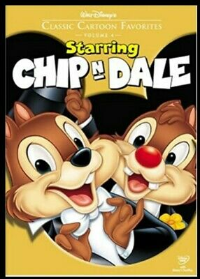 Walt Disneys Classic Cartoon Favorites Starring Chip n Dale (DVD, 2005) SEALED!