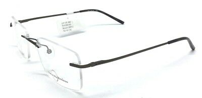 e989297673ce Naturally Rimless NR-366 Eyeglass Stainless Steel Frames Glasses Brown  54-19-140