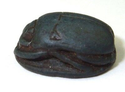 Antique Genuine Rare Ancient Egyptian Scarab